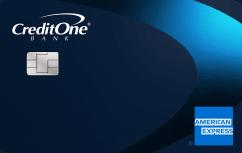 Credit One Bank American Express<sup>®</sup> Credit Card image.