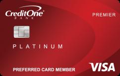 Credit One Bank® Platinum Premier Cash Back Rewards Credit Card