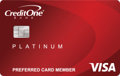Credit One Bank® Platinum Premier Cash Back Rewards Credit Card