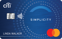 Citi Simplicity® Card - No Late Fees Ever