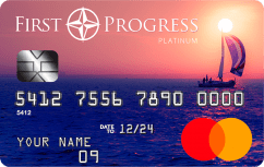 Platinum Elite Mastercard<sup>®</sup> Secured Credit Card image.