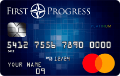 Platinum Prestige Mastercard<sup>®</sup> Secured Credit Card image.