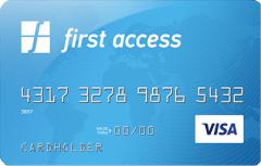First Access VISA® Credit Card