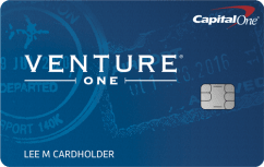 Capital One VentureOne Rewards Credit Card image.