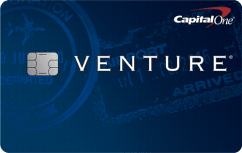Capital One Venture Rewards Credit Card image.