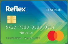 Reflex Mastercard<sup>®</sup> image.