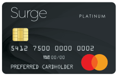 Surge Mastercard<sup>®</sup> image.