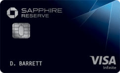 Chase Sapphire Reserve<sup>®</sup>