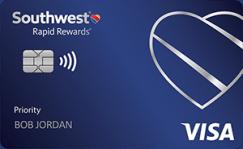 Southwest Rapid Rewards<sup>®</sup> Priority Credit Card image.