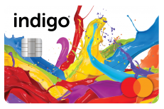 Indigo<sup>®</sup> Platinum Mastercard<sup>®</sup> image.