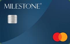 Milestone<sup>®</sup> Gold Mastercard<sup>®</sup> image.