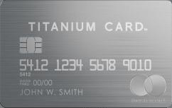 Luxury Card<sup>™</sup> Mastercard<sup>®</sup> Titanium Card<sup>™</sup> image.