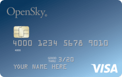 The OpenSky<sup>®</sup> Secured Visa<sup>®</sup> Credit Card image.