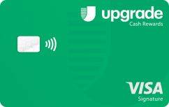 Upgrade Visa<sup>®</sup> Card with Cash Rewards image.