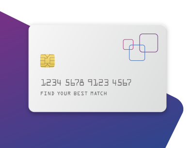 Experian card on white gradient