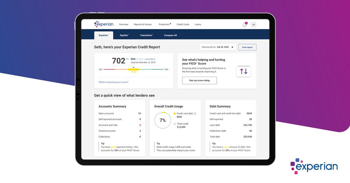 Free Credit Monitoring - Experian