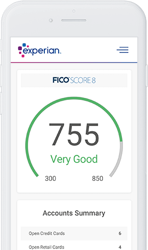 Experian Credit Report and FICO Score